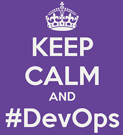 keep calm and devops small