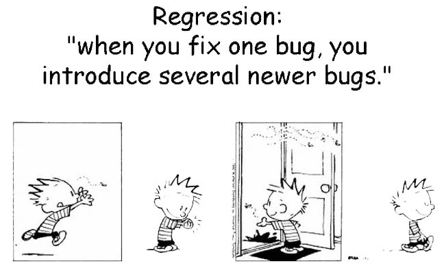 regression test